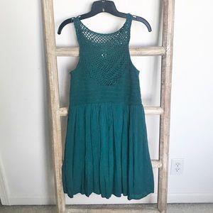 Evereve Allison Joy crochet top halter dress